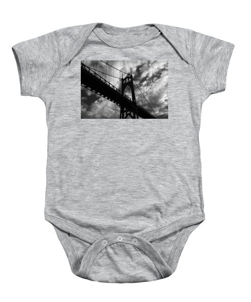 St Johns Bridge Baby Onesie