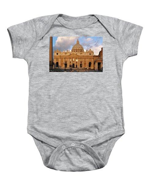 St. Peters Basilica Baby Onesie