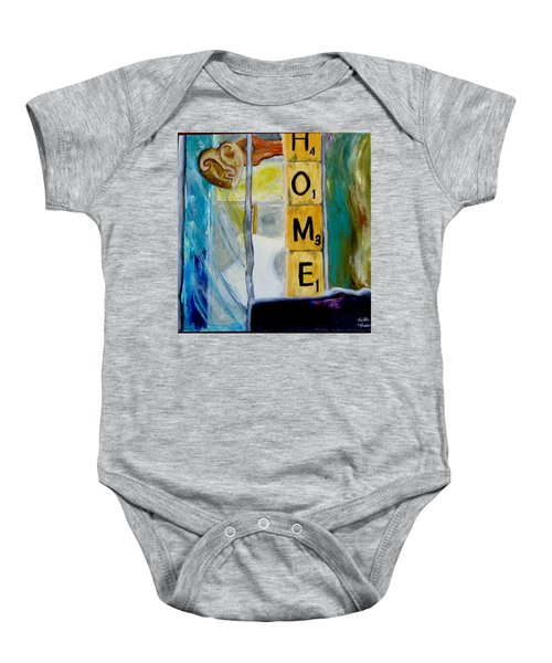 Stained Glass Home Baby Onesie