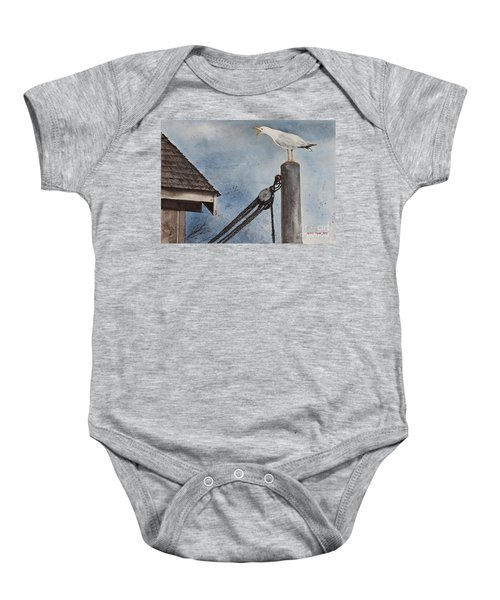 Staking A Claim Baby Onesie