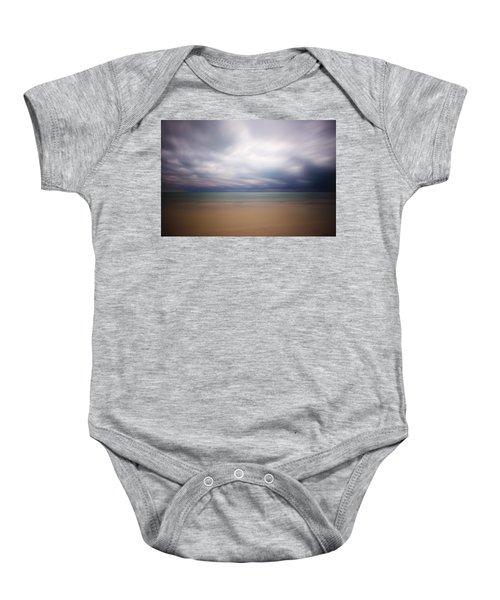 Stormy Calm Baby Onesie