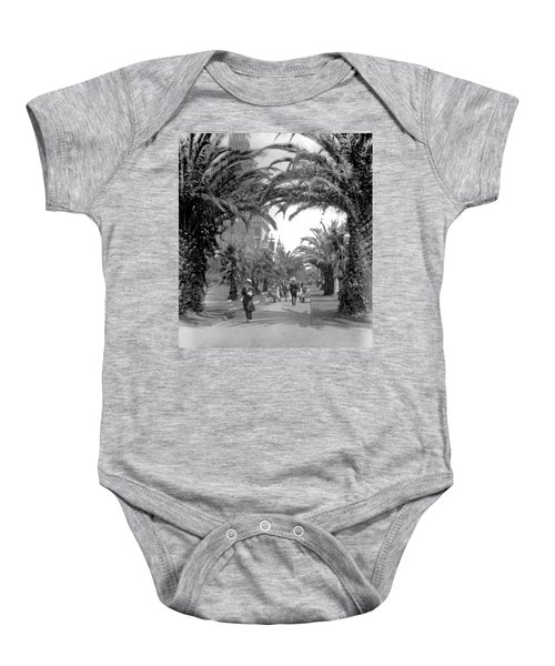 Avenue Of The Palms, San Francisco Baby Onesie