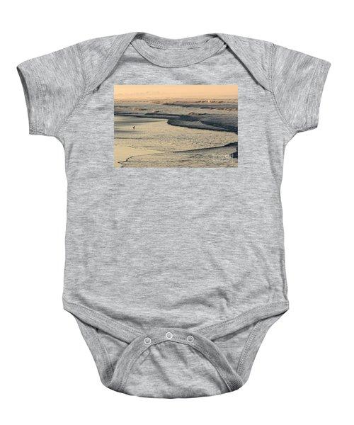 Sunrise On The Ocean Baby Onesie