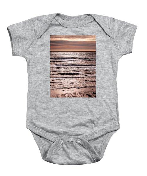 Sunset Ocean Baby Onesie