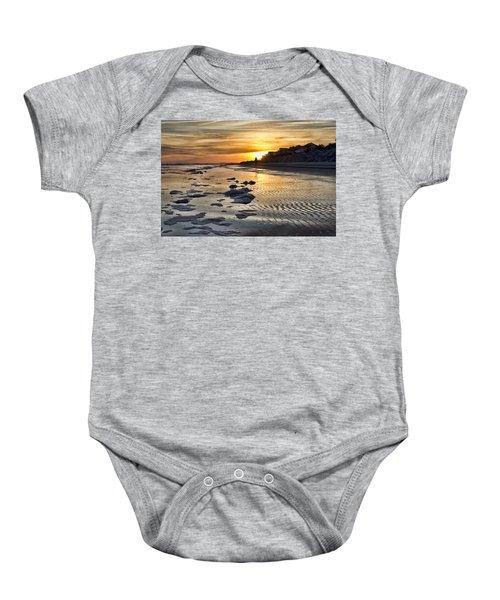 Sunset Wild Dunes Beach South Carolina Baby Onesie