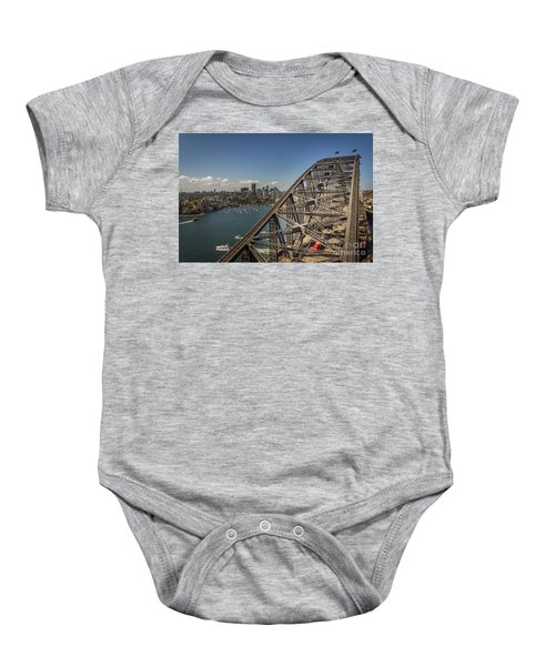 Sydney Harbour Bridge Baby Onesie