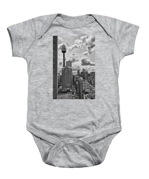 Sydney Skyline Baby Onesie by Douglas Barnard
