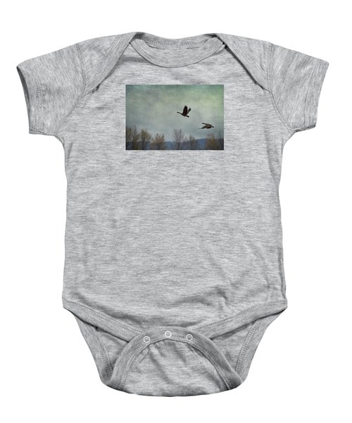 Taking Flight Baby Onesie