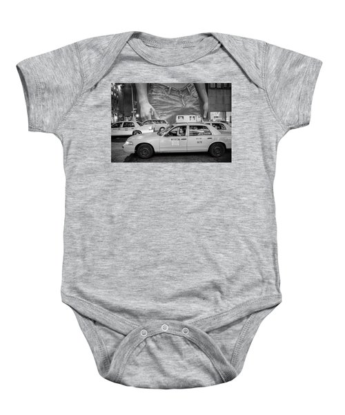 Taxis On Fifth Avenue Baby Onesie