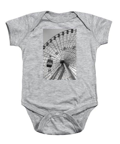 Texas Star Ferris Wheel Baby Onesie