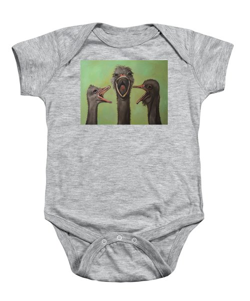 The 3 Tenors Baby Onesie by Leah Saulnier The Painting Maniac