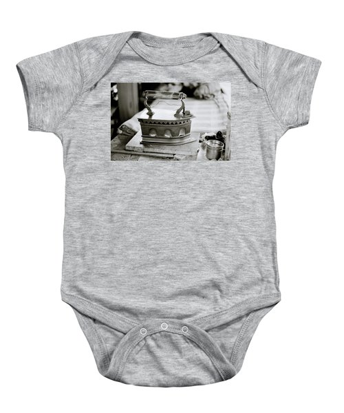 The Antique Iron Baby Onesie