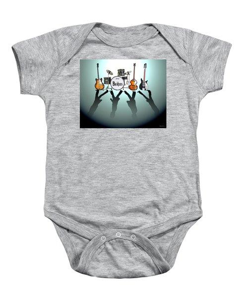 The Beatles Baby Onesie