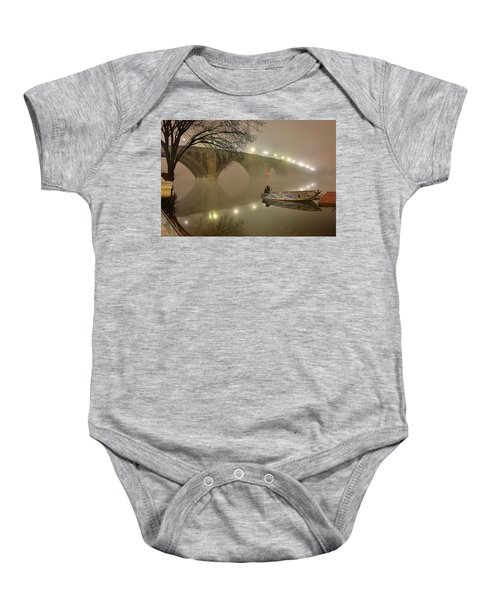The Bridge To Nowhere Baby Onesie