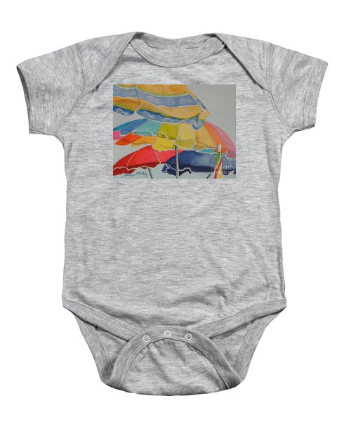 The Colors Of Fun.  Sold Baby Onesie