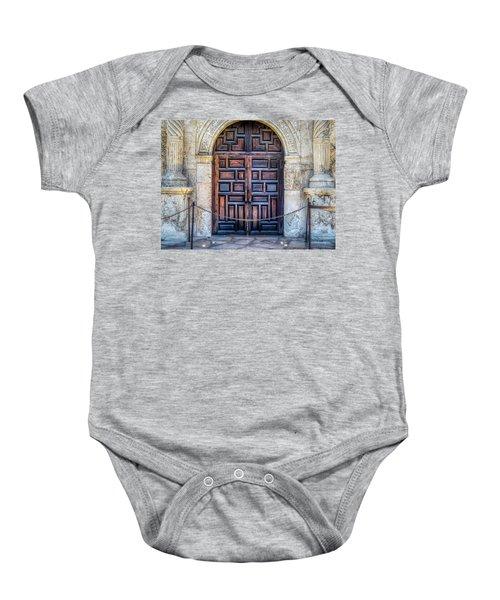 The Alamo Baby Onesie