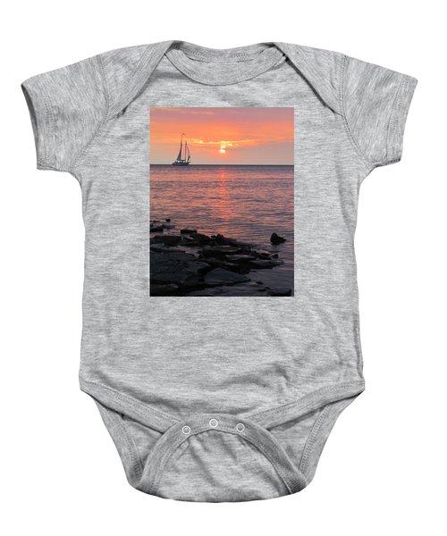 The Edith Becker Sunset Cruise Baby Onesie