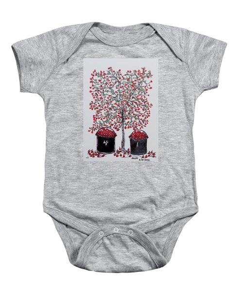 The Famous Door County Cherry Tree Baby Onesie