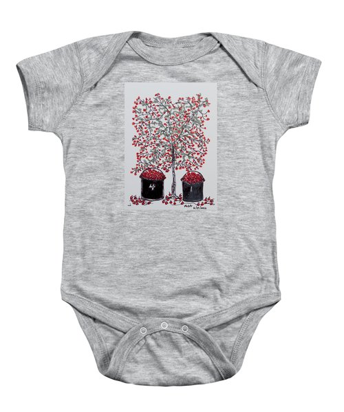 The Famous Door County Cherry Tree Baby Onesie