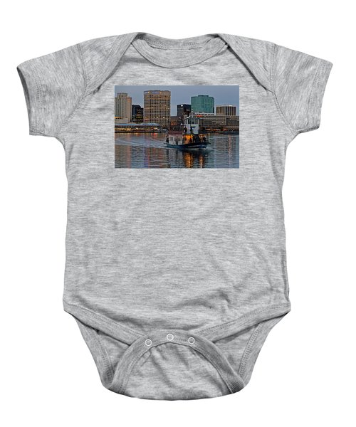 The Ferry To Portsmouth Baby Onesie