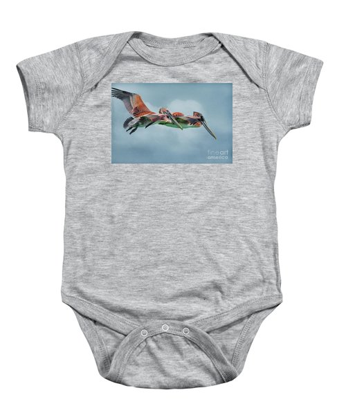 The Flying Pair Baby Onesie