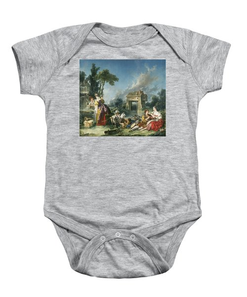 The Fountain Of Love Baby Onesie
