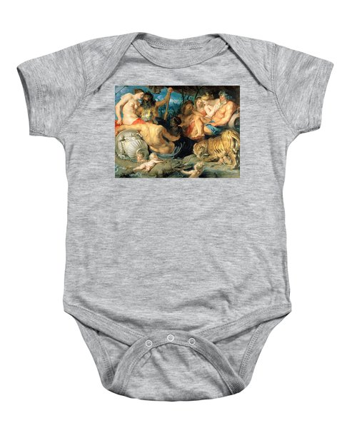 The Four Continents, 1615 Baby Onesie