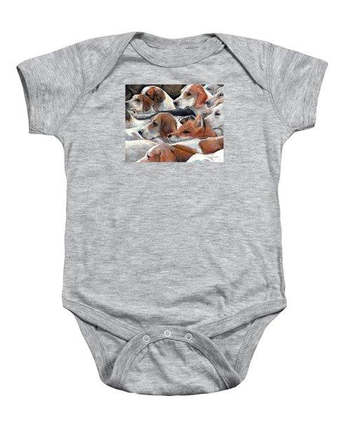Fox Hunt Baby Onesie