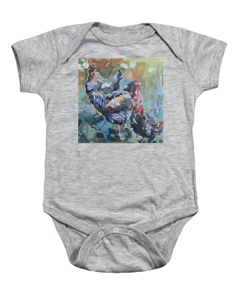 The Girls Of Green Hill Farm Baby Onesie