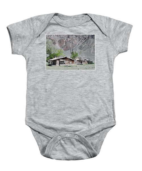 The Grass Is Greener When It's Growing On The Roof Baby Onesie