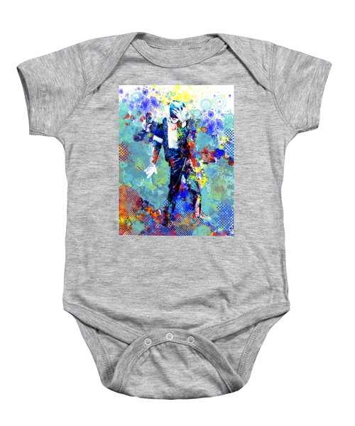 The King Baby Onesie by Bekim Art