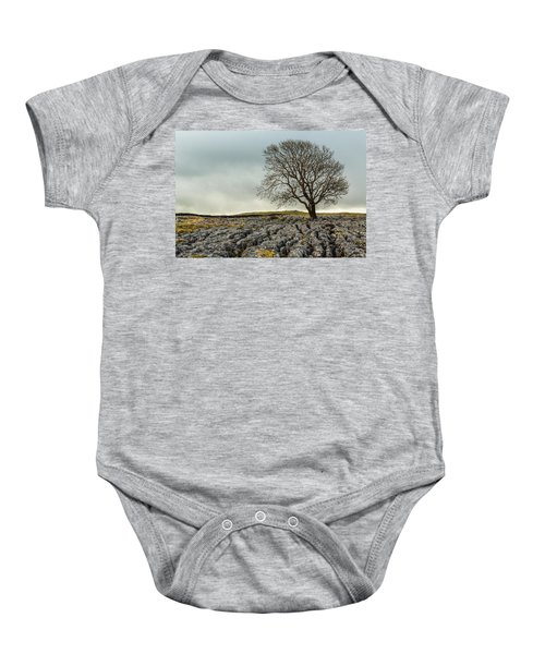 The Lonely Tree Baby Onesie