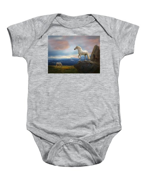 The Look Out Baby Onesie