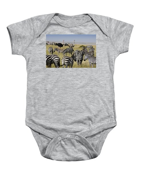 The Odd Couple Baby Onesie by Michele Burgess