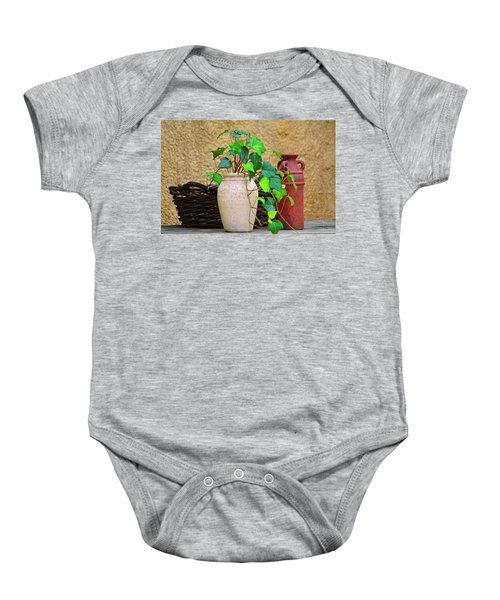 The Old Times Baby Onesie