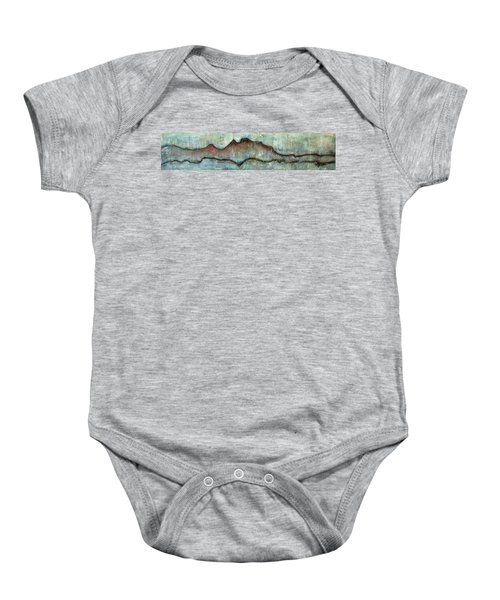 The Only Way Out Is Through Baby Onesie