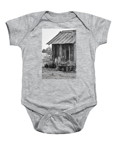 The Outhouse Bw Baby Onesie