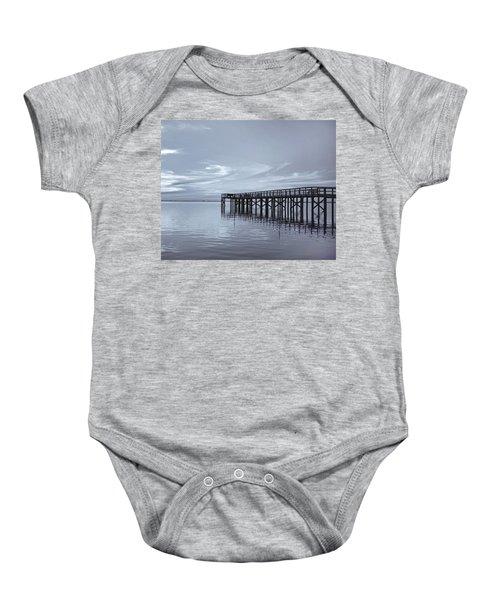 The Pier Baby Onesie