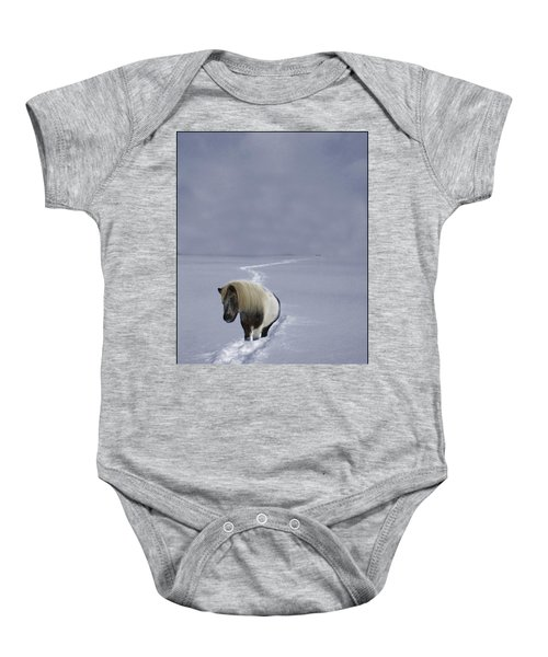 The Ponys Trail Baby Onesie