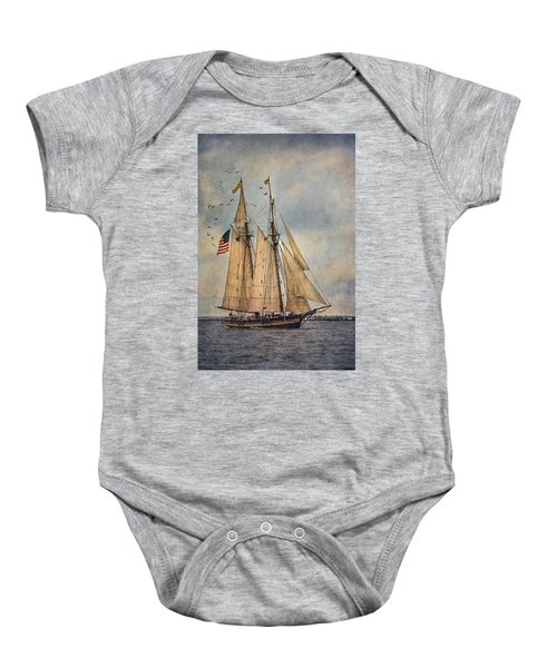 The Pride Of Baltimore II Baby Onesie