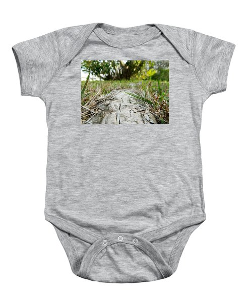 The Root Of Happiness Baby Onesie