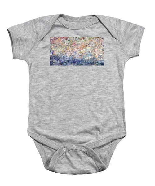 Fragmented Sea Baby Onesie