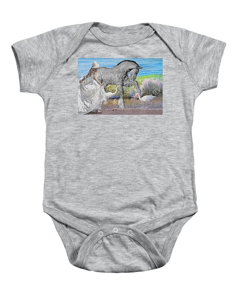The Sea Horse Baby Onesie