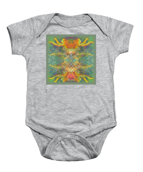 The Tree Of The Knowledge Of Good And Evil Baby Onesie