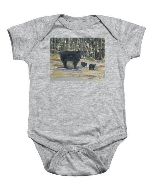 Cubs - Bears - Goldilocks And The Three Bears Baby Onesie