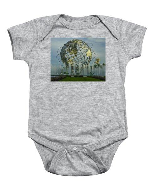 The Unisphere Baby Onesie