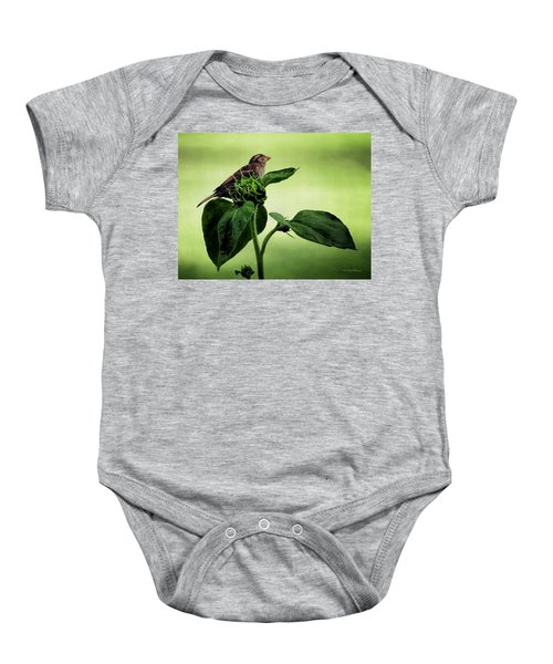 Thoughtful Sparrow Baby Onesie