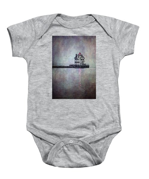 Through The Evening Mist Baby Onesie