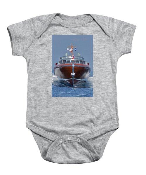 Thunderbird Yacht Baby Onesie