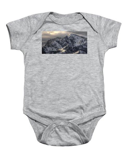 Thurston Peak Pano Baby Onesie